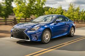 sporty lexus 4 door 2016 lexus rc coupe adds turbo four 200t v 6 300 awd models