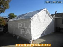 white tent rentals 20ft x 20ft tent rental pictures prices