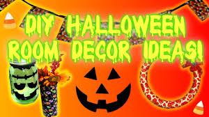 diy halloween room home decor ideas youtube