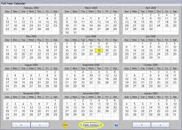 ace payroll calendar