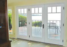 3 Panel Exterior Door Exceptional 3 Panel Door Patio Door Exterior Doors Better