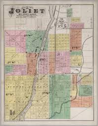 Il Map Joliet Will County Illinois David Rumsey Historical Map