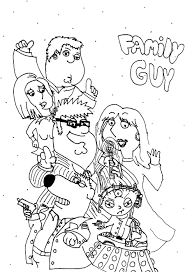 printable family guy coloring pages coloring me