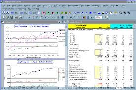 screen shot business plan software template financial