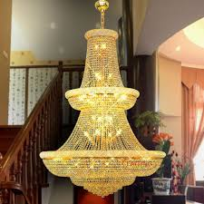 French Chandelier Antique Vintage Large Cheap K9 Crystal Hotel Lobby French Chandelier