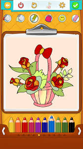 flower coloring pages android iphone ipad u0026 windows phone app