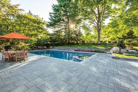 Paving Stones Patio Quality Stone Veneer For A Contemporary Spaces With A Stone Patio