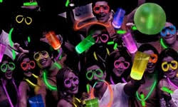 glow in the party ideas for teenagers kids birthday party place karaoke glow