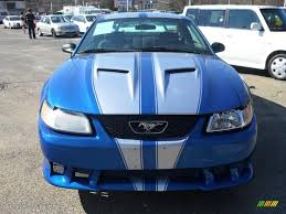 2000 blue mustang 2000 bright atlantic blue metallic ford mustang v6 coupe 27413860