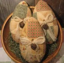 Primitive Easter Decorations To Make by Fabric Covered Eggs Made From Cheap Plastic Easter Eggs Pinned