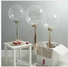 wedding balloons 5 12 18 36 inch confetti balloons clear balloons party