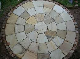 Circular Patio Kit by Garden Landscapers And Patios Before After