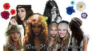 hippie headbands how to wear hippie headbands college fashion
