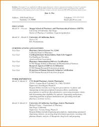 Objective For Pharmacist Resume Cover Letter For Pharmacist Resume Image Collections Cover
