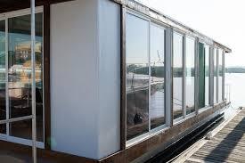 sliding glass door manufacturers list splendid houseboat design inspiration with paper wall house