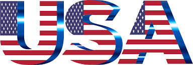 United Staes Flag Clipart Usa Flag Typography No Filters No Background