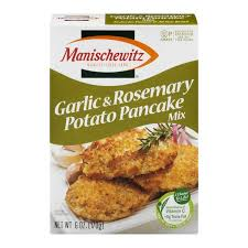 manischewitz potato pancake mix manischewitz potato pancake mix garlic rosemary from kroger
