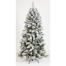 Christmas Window Decorations Homebase by 6ft Snowy Artificial Christmas Tree At Homebase Co Uk