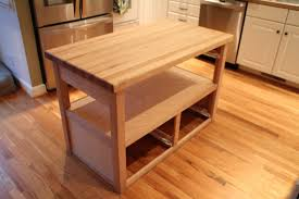 build diy open shelf kitchen island inspirations including make picture making a kitchen island gallery and stylish designs images