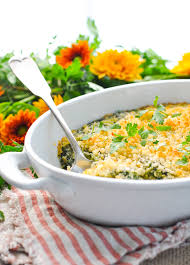 easy creamed spinach casserole the seasoned