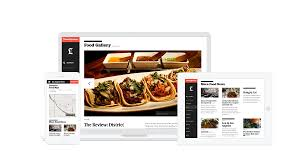 Tv Food Maps La Times Responsive Website U2014 Mark Girgis