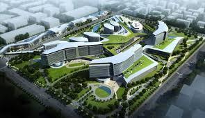 Site Plan Design by Shanghai International Medical City Gresham Smith And Partners