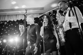 london wedding band velvet five wedding band with sax vocals