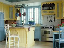 Blue Kitchen Island Kitchen Cabinet Wonderful Blue Kitchen With Glossy