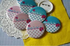 baby shower return gifts personalized baby shower badges ladybug