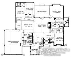 2500 Sq Ft House Plans Single Story by Craftsman House Plans 2500 Square Feet