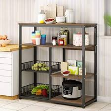 kitchen pantry storage cabinet microwave oven stand with storage ywind standing baker s rack utility storage shelf microwave oven stand workstation kitchen multifunctional storage cabinet spice pots pans