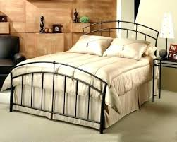 King Metal Headboard White Wrought Iron Headboard Wrought Iron And Wood King Headboard