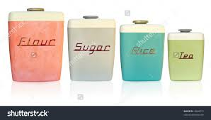 kitchen canisters flour sugar kitchen canisters flour sugar green