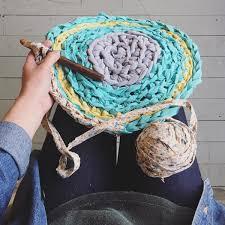 Crochet A Rag Rug Crochet Rag Rugs Perennial