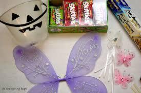 diy candy fairy costume as the bunny hops