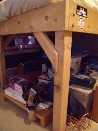 Bunk Beds And Mattress Diy 4x4 Bunk Beds Make Your Own Loft Bed Bodacious Bunk Beds