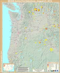 Map Of Oregon Fires by The Current Pacific Northwest Wildfire Map Is Fucking Terrifying