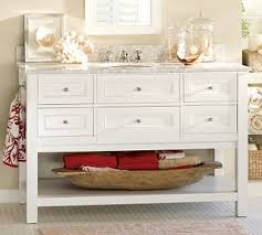 52 Bathroom Vanity Cabinet by Traditional Bathroom Vanities And Sink Consoles By Pottery Barn