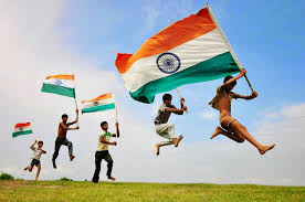 Image Indian Flag Download India Flag Fluttering By Kids For Indian Independence Day