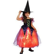 toddler witch costume purple orange witch dress costume walmart
