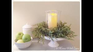 flower candle rings cottage chic candle centerpiece diy create a charming greenery