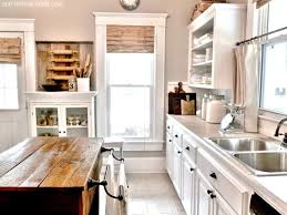 Rustic Kitchen Decor Ideas Kitchen Amazing Kitchen Decorating Ideas With Brown Rustic Wood