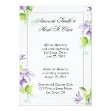 post wedding reception invitation wording cheerful post wedding reception invitation wording picture on