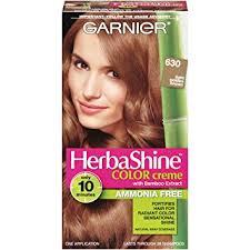 light golden brown hair color amazon com garnier herbashine haircolor 630 light golden brown beauty
