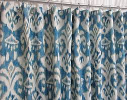 blue watercolor shower curtain blue watercolor bliss