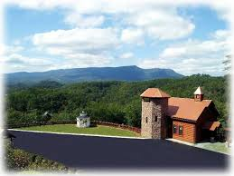 wedding chapels in pigeon forge tn s view wedding chapel