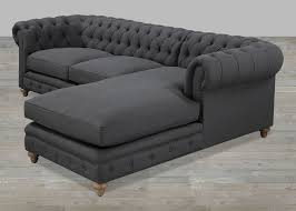 beige linen button tufted sofa