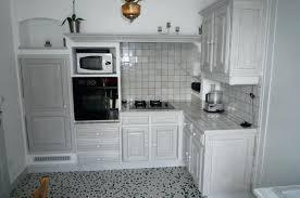 cuisine ceruse blanc cuisine en chene peinte en gris cethosia me