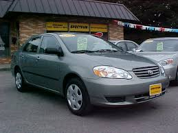 2003 toyota corolla mpg automatic what s on the lot