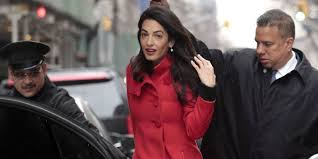 is amal clooney hair one length an analysis of amal clooney s glorious hair